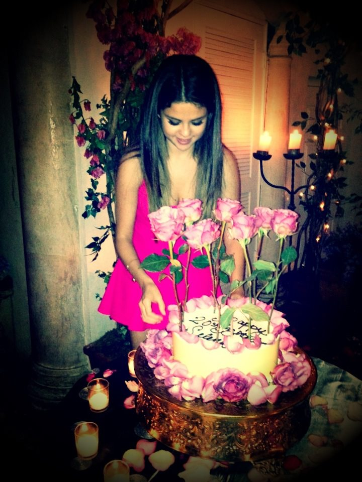 Selena Gomezs Birthday Cake Fried Junk