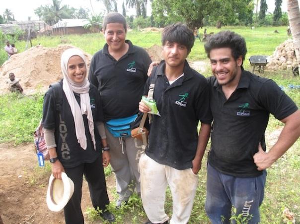 Group of volunteers K4K