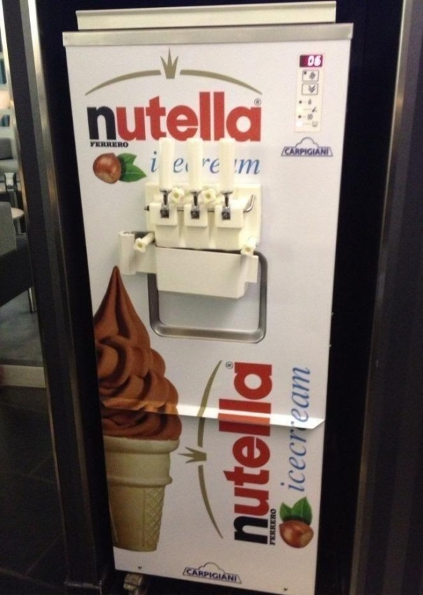 Nutella Ice Cream Machine
