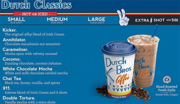 Dutch Bros Hot Chocolate Price